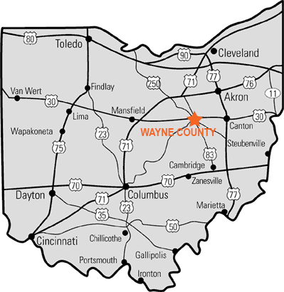Wayne County, Ohio Economic Development Council - Road