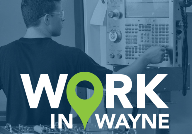 Wayne County is an exceptional place to Work, Live & Play. Learn more about  what our community has to offer at WORK IN WAYNE.